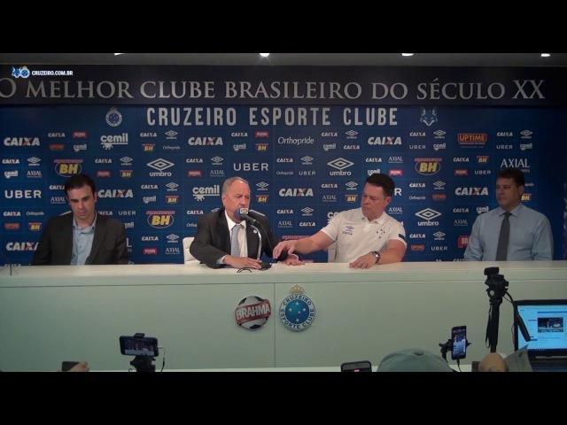08/02/18 - Coletiva: Parceria Cruzeiro e Axial