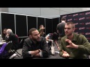 NYCC 2017 Comic Uno Freeforms Siren Alex Roe and Ian Verdun Interviews