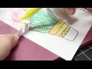 Easy Color Blending with Kuretake ZIG Clean Color Real Brush⎜Waffle Flower