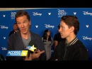 Avengers Infinity War Interview With Tom Holland Benedict Cumberbatch At D23