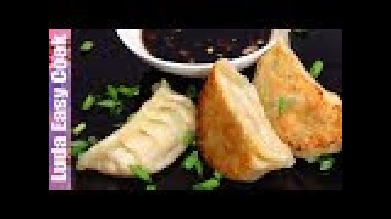 ВСЕ СЕКРЕТЫ приготовления пельменей ГЕДЗА сочных и вкусных Японская Кухня | GYOZA DUMPLINGS RECIPE