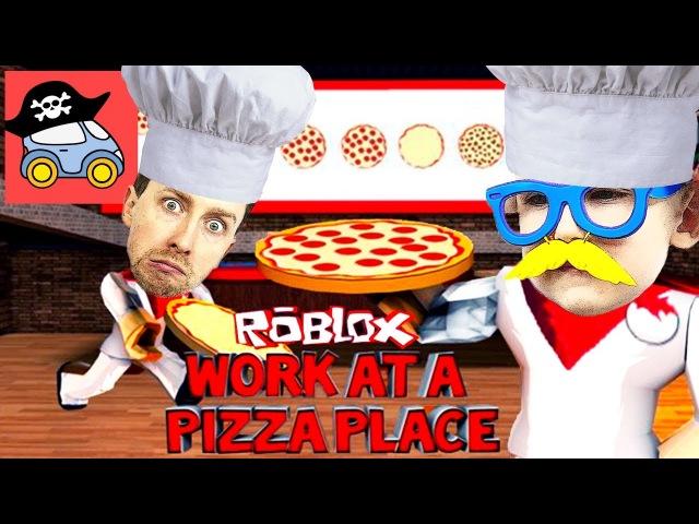 💢 РОБЛОКС ПИЦЦЕРИЯ не для слабаков ВСЕ РАБОТЫ СРАЗУ в ROBLOX Working at a Pizza Place Жестянка