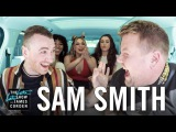 Carpool Karaoke w Sam Smith ft. Fifth Harmony
