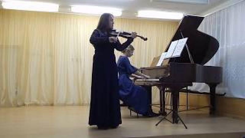 Фридерик Шопен Ми Минор (Катя Есауленко и Олеся Галимова)