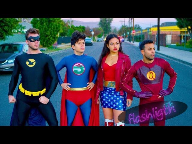Супергеройский судебный иск | Руди Манкусо, Анвар Джибави, Инанна Саркис и Джимми Татро