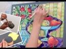 Картина для кухни. Как самому нарисовать картину