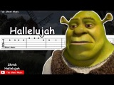 Shrek - Hallelujah Guitar Tutorial