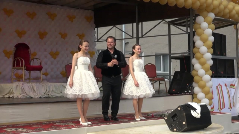 Funiculì, Funiculà - Василий Герелло , Диана и Марианна Гавриловы (12 августа 2017 г.)