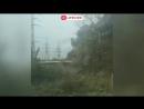Крупный пожар со взрывом под Нижним Новгородом