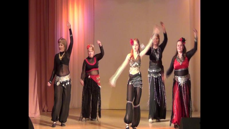 НАРГИЗА - Восточный танец Трайбл г.Нижний Тагил 2017г.
