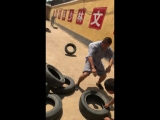 Время силовой тренировки. Одна из школ шаолиньского ушу, г.Денфэн, Китай