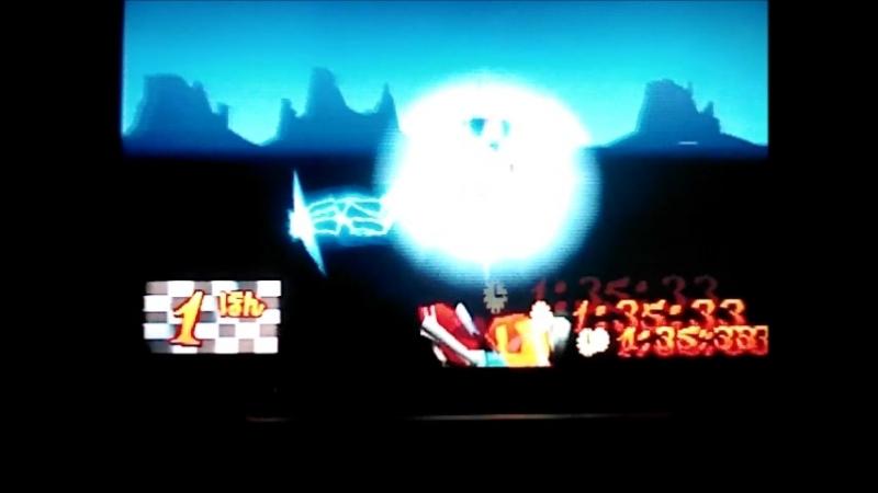 Crash Bandicoot 3Warped(NTSC-J).Area 51.Passage on 2 gemsPlatinum Relic.13533.Неофициальный WR.