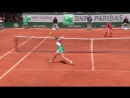 Kristina Mladenovic v Timea Bacsinszky Highlights Womens Quarterfinals 2017