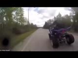 квадроцикл сбил мотобата ( OMC (6))