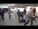 Russian famous accordion player earned more playing in metro than American famous violinist