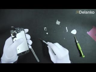 Замена дисплейного модуля iPhone 5s _ Как заменить дисплей на Айфон 5s инструкци