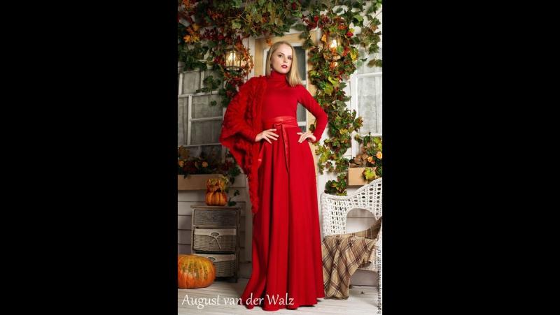 Трикотажные Платья на Осень от Алексея Сычева