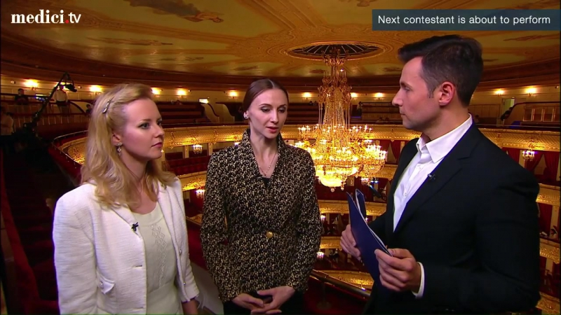 Moscow Ballet Competition 13 - Interview with Svethlana Zakharova