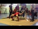 Канафин Нургиз жим 87.5 кг при весе 58. 800