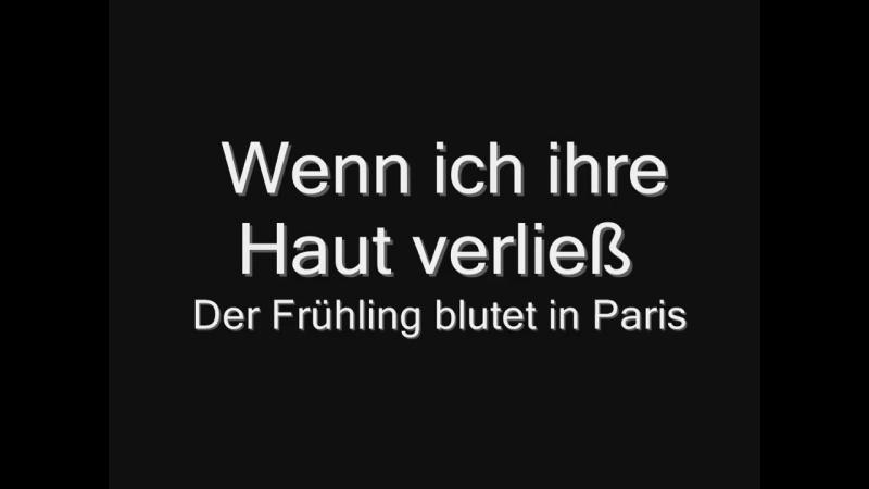Rammstein - Frühling in Paris (lyrics) HD.mp4