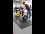 Сабина тяга 150 кг на 4 раза!