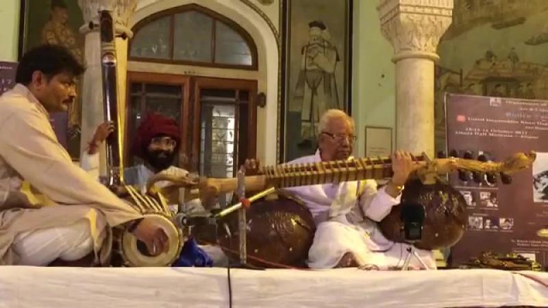 Pandit Rajshekhar Vyas - Raga Gangeyabushan - Alap Bandish in Chautaal
