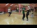 Надя и Вова в школе танцев Breeze Dance.Bachata
