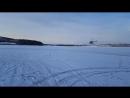 Как чистят лед на сборах в Швеции.