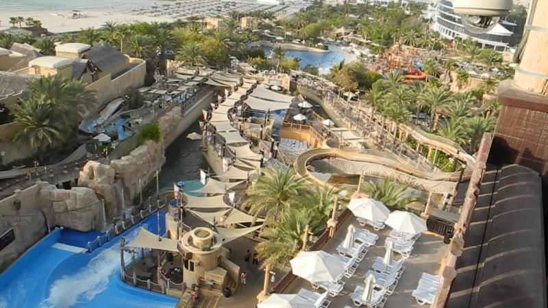 АкваПарк Wild Wadi в Дубае ОАЭ