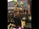 Гиревой фитнес Леброн Джеймс _ LeBron James - kettlebell fitness