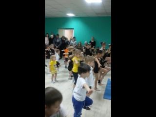 Детская акробатика. Открытое занятие