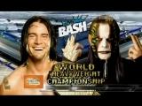 WWE The Bash '09 Jeff Hardy vs Cm Punk highlights (Reloading)