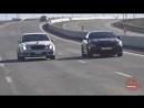 Drag race BMW M6 e63 vs MB E55 AMG w211