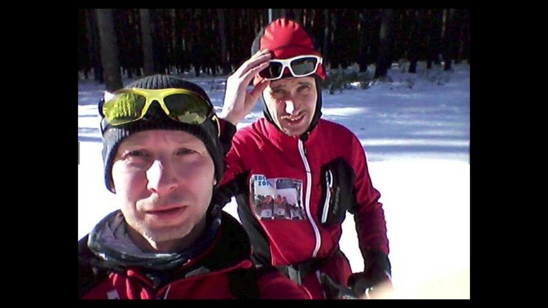 Strava(Flybys) - лыжная покатушка 3.03.2018 (Карпуша А., Коковин Е.: 61 и 35 км)