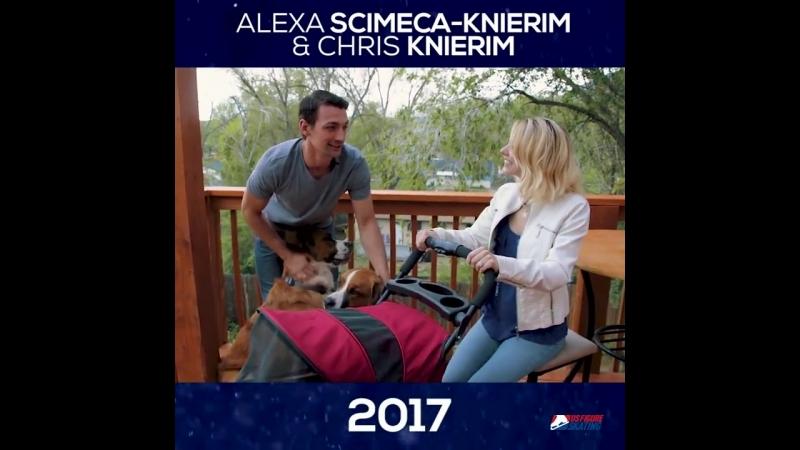 Through the Years-Alexa Scimeca-Knierim and Chris Knierim