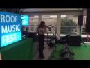 Roofmusic fest.Ольга Максимова и Вера Эсаулова