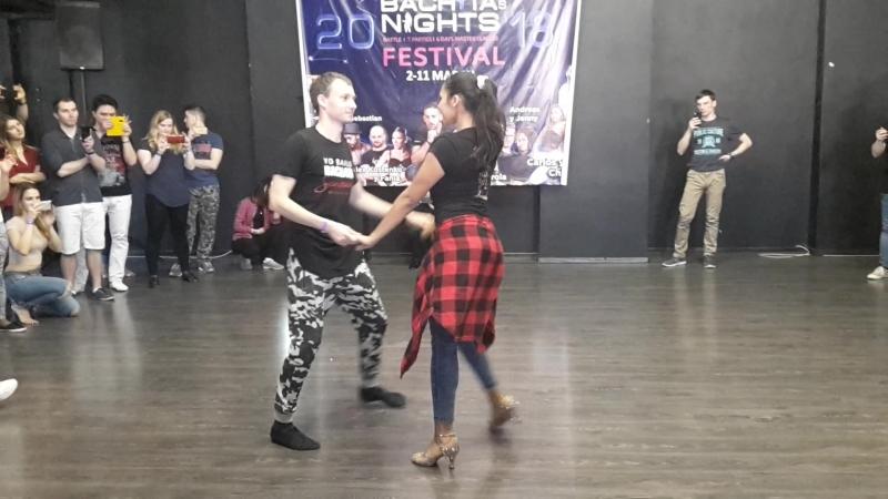 Zorina y Sergey - Bachatas Nigths 2018