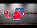Houston Cougars vs Cincinnati Bearcats 11 03 2018 AAC Championship Final NCAAM 2017 2018