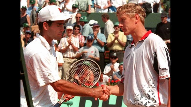 Kafelnikov v Sampras RG 1996 Semifinal