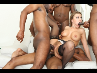 Britney Amber - Blacked Out 8, Scene 2 Hardcore, Big Tits, Blowjob, Interracial, New Porn 2017