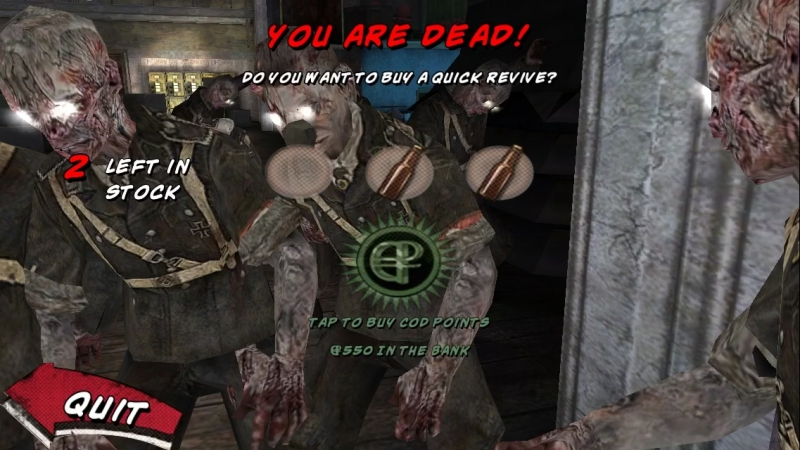 Black Ops Zombies IOS Round 99-100!