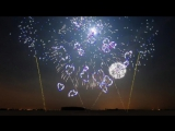 New Years 2018 - Synchronized Epic Music (Heart of Courage) - FWSim Fireworks Display - HD