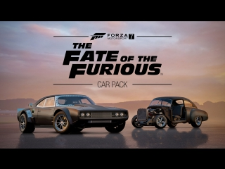 Линейка автомобилей The Fate of the Furious