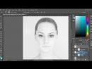 Превращаем портрет в мраморную статую в Фотошоп