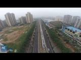 Первая островная кольцевая скоростная железнодорожная линия мира в Китае