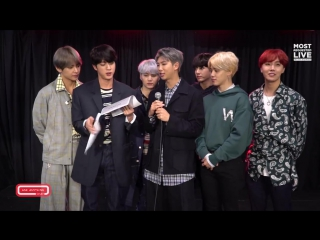 `VIDEO` BTS Tell The ARMY & The World What They Like To Eat.