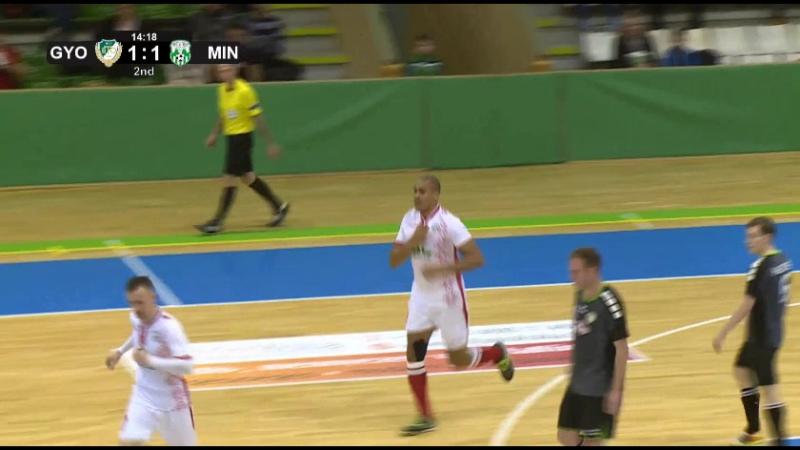Гол Бето в ворота «Дьера», 1:1