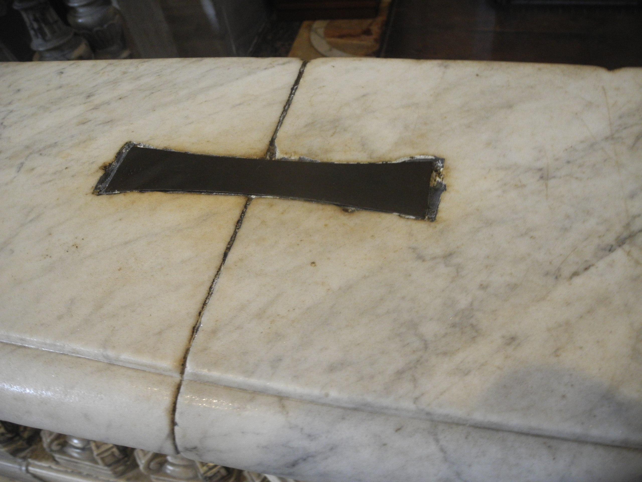 металлические скобы собор свтяого петра