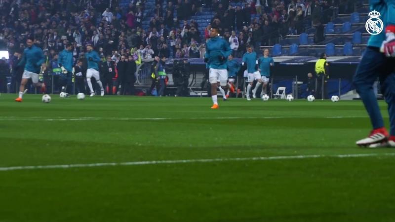 Real Madrid vs PSG 3-1 ¦ Behind the scenes