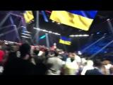 Гимн Украины на поединке Поветкин – Руденко